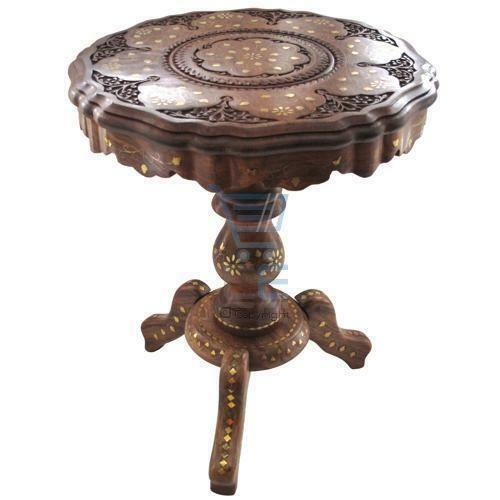 Indian Brass Table Ebay
