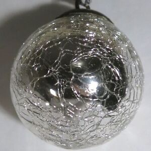 """18 Lot Hand Made Silver Ornaments 42mm 1.6"""" Diameter Kitchener / Waterloo Kitchener Area image 1"""