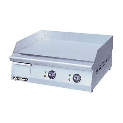 Adcraft Grid-24 24 Electric Countertop Griddle With Flat Griddle Surface