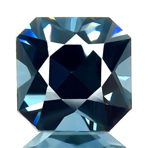 1.79 ct FLAWLESS 100% NATURAL UNHEATED BEST GREEN BLUE SPINEL NICE CUT GEMSTONE!