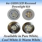 Recessed Downlight LED Light Bulbs GU10 Bulb Shape Code