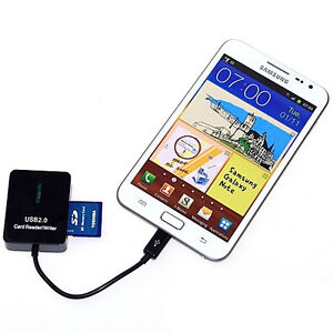 5in1 otg cable sd card reader for samsung galaxy note 2 3. Black Bedroom Furniture Sets. Home Design Ideas