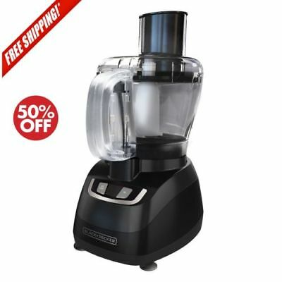 Small Food Processor Best 8 Cup Kitchen Shredder Blender Electric Grater