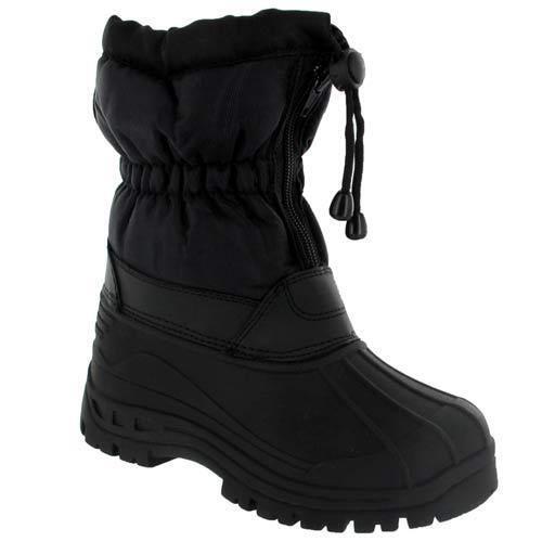 Boys snow boots size 3 ebay