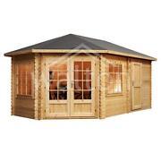 Corner Log Cabin