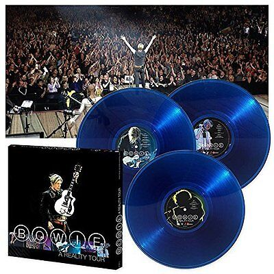 DAVID BOWIE : A REALITY TOUR  (Triple LP Vinyl Box Set) sealed