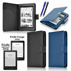 Leather Folding Folio Cases for Kindle Touch