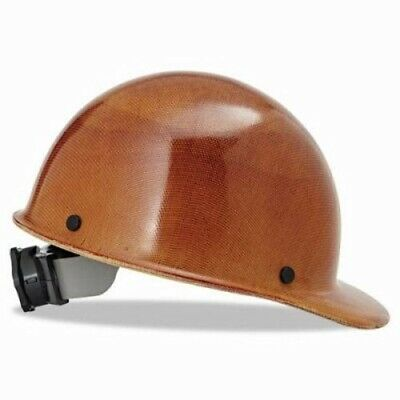 Msa Hard Hats With Ratchet Suspension 6-12 - 8 Natural Tan Msa 475395
