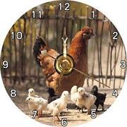 Rooster clock ebay for Model chicken set