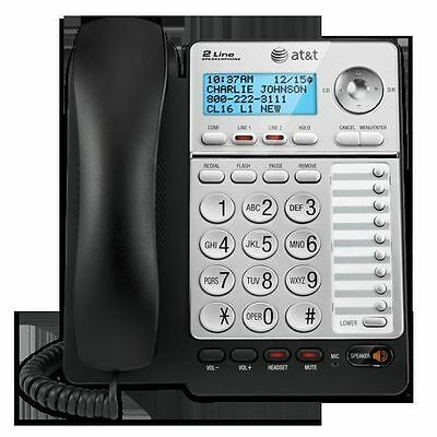 Att Ml17928 Ml17929 2 Line Office Phone Caller Id Speaker Conference Hs Jack