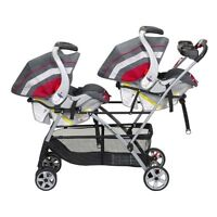 The Baby Trend Double Snap N Go Stroller frame (twins)