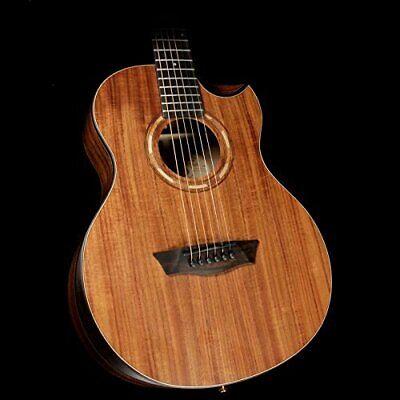 Washburn 6 String Acoustic Guitar, Natural (WCGM55K-D)