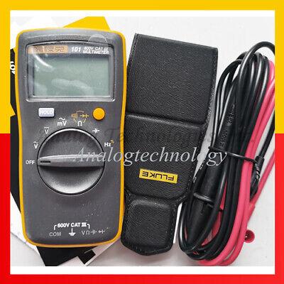 Fluke 101 Kit Palm-sized Digital Multimeter Meter Smaller Than Fluke 17b No Amp