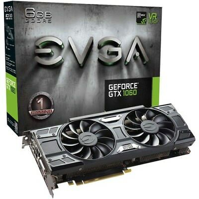 EVGA GeForce GTX 1060 GAMING ACX 3.0 Graphics Card