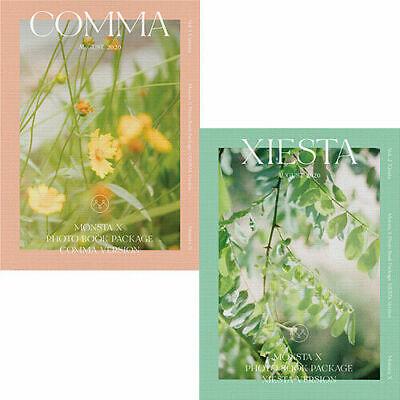MONSTA X 2020 PHOTO BOOK[COMMA & XIESTA] 2DVD+2buch+2 Karte Set+ect