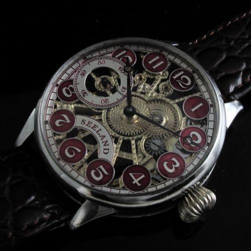Vintage skeleton watch ebay for Classic skeleton watch
