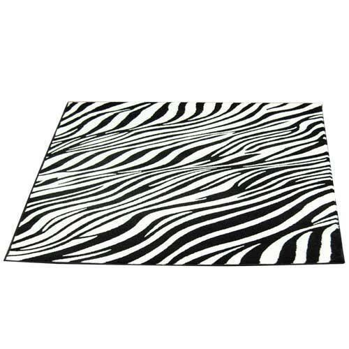 Black And White Rug Ebay Uk: Black And White Zebra Rug