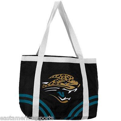 Jacksonville Jaguars NFL Canvas Tailgate Bag Purse Tote Beach Handbag Littlearth Nfl Canvas Tailgate Tote