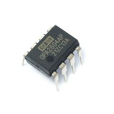 2pcs Burr Brown Opa2604ap Opa2604 - Dual Fet Operational Amplifier New Ic