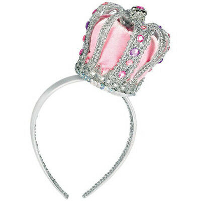 BIRTHDAY PRINCESS DELUXE CROWN HEADBAND ~ Party Supplies Favor Accessory Pink