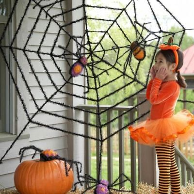 12Ft Riesen Spinne Web Spooky Haunted House Halloween - Outdoor Halloween Dekoration