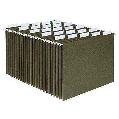 Pendaflex Hanging File Folders Letter Size Standard Green 15-cut Adjustable