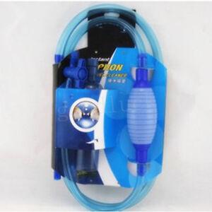 Large aquarium fish tank syphon siphon cleaner vacuum for for Fish tank gravel vacuum