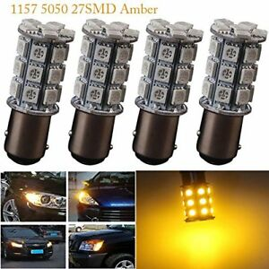 1157 BAY15D 27 LED Turn Signal Light Amber lumière LED voiture