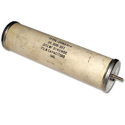 New Film Capacitors 0.002uf 30000v Dc High Voltage Oil Capacitor 0.002mfd