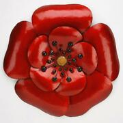 Poppy Metal Wall Art