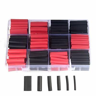 300 Pcs 31 Heat Shrink Tubing Kit Dual Wall Adhesive Marine Heat Shrink Tube ...