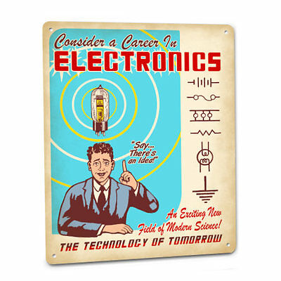 Electronics Sign Consider Career Science Technology Vacuum Tube Schematic 95