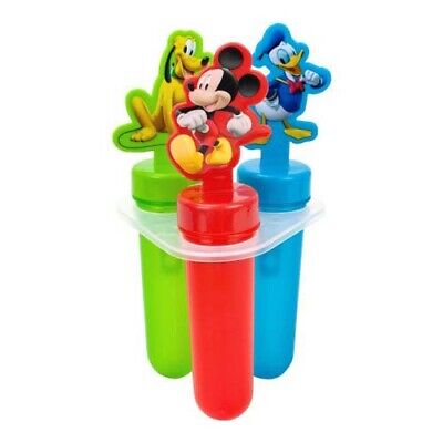Best Brands Disney Mickey Mouse Clubhouse 3 Popsicle Maker Molds and (Best Ice Pop Molds)