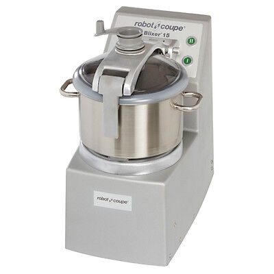 Robot Coupe Blixer 15 Healthcare Facility Blendermixer With 15-qt. Ss Bowl