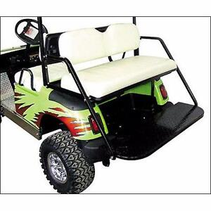 GOLF CART ~ Standard Flip Rear Seat Kit FREE SHIPPING!