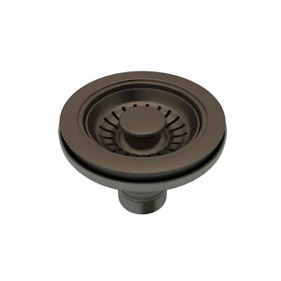 Rohl 738TCB Basket Strainer without Remote Pop-Up w/ Large 1 7/16 Diameter (B49) Strainer Basket Remote Pop Up