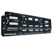 Mercedes Number Plate Holder