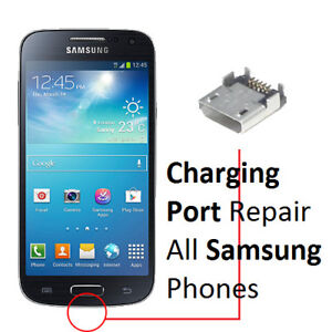 Samsung S3,S4, S5, S6, S7, S7 Edge, S8,Plus Charging Port Repair