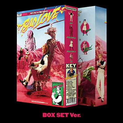 SHINEE KEY [BAD LOVE] 1st Mini Album BOX SET VER CD+PhotoBook+Lyrics+Card SEALED