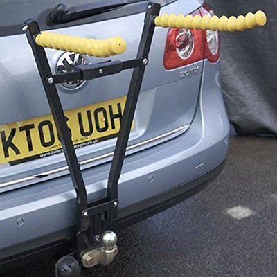 Maypole Clipper Towbar Tow Ball Mounted 3 Bike Bicycle Travel Rack Cycle Carrier
