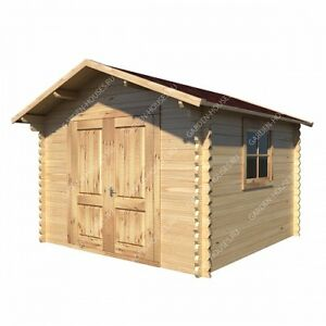 Barn style do-it-yourself solid pine shed.