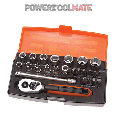 "Bahco  SL25 25 piece socket set 1/4"" drive"