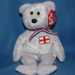England the England-exclusive bear Ty Beanie Baby stuffed animal Kitchener / Waterloo Kitchener Area image 1
