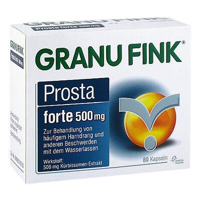 GRANU FINK Prosta forte 500 mg Hartkapseln 80St 10011921