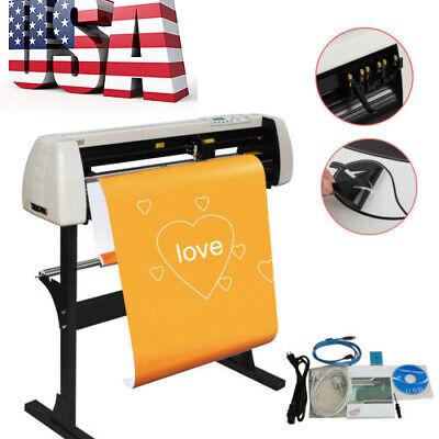 Useful 28 720mm Vinyl Cutter Plotter Sign Maker Cutting W Stand Machine
