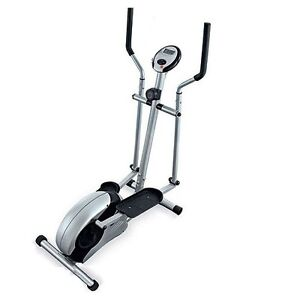 Elliptical exercise and training machine