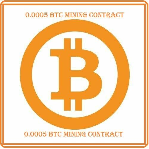 Mining Contract 1 Hour (bitcoin) Processing Speed (TH/s) 0.0005 BTC