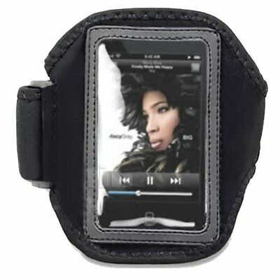 Deluxe ArmBand Sports Gym Case Holder for Apple iPod Touch 2 3rd 4th Generation (Apple Ipod Touch Sports Armband)