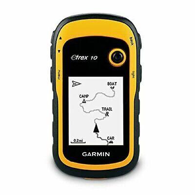 Garmin eTrex 10 Worldwide Handheld GPS Navigator   BRAND NEW