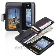 Leather iPhone 4 Wallet ID